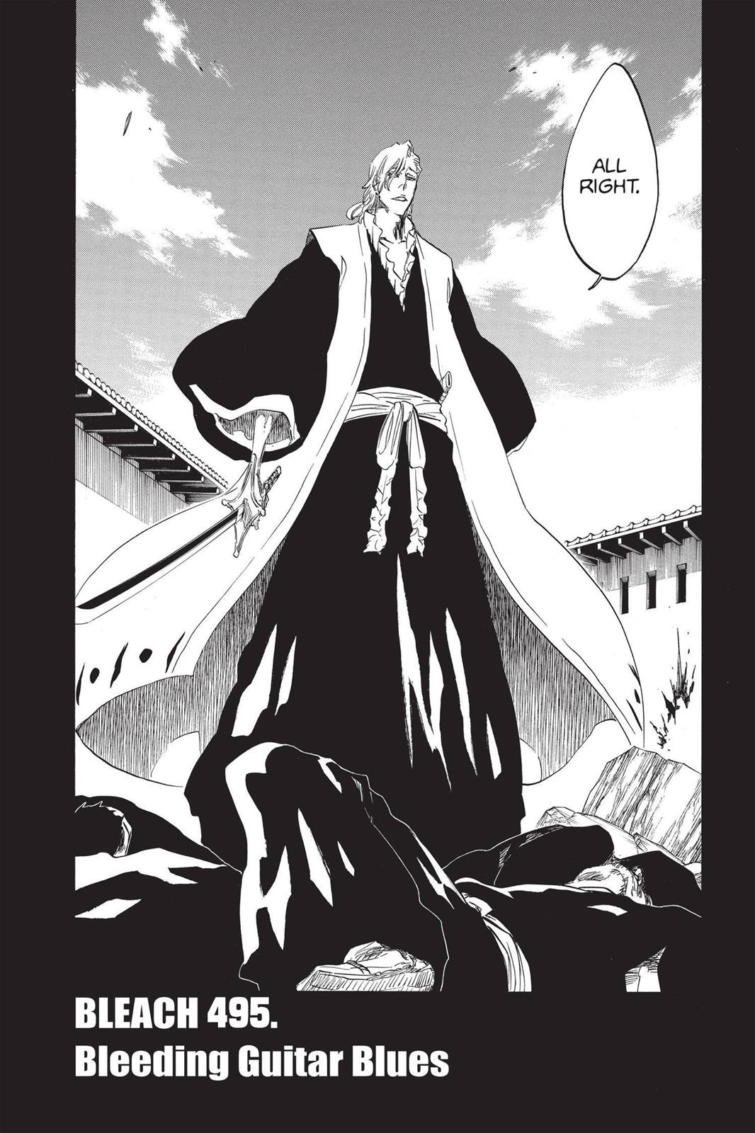 Bleach, Chapter 495 image 004