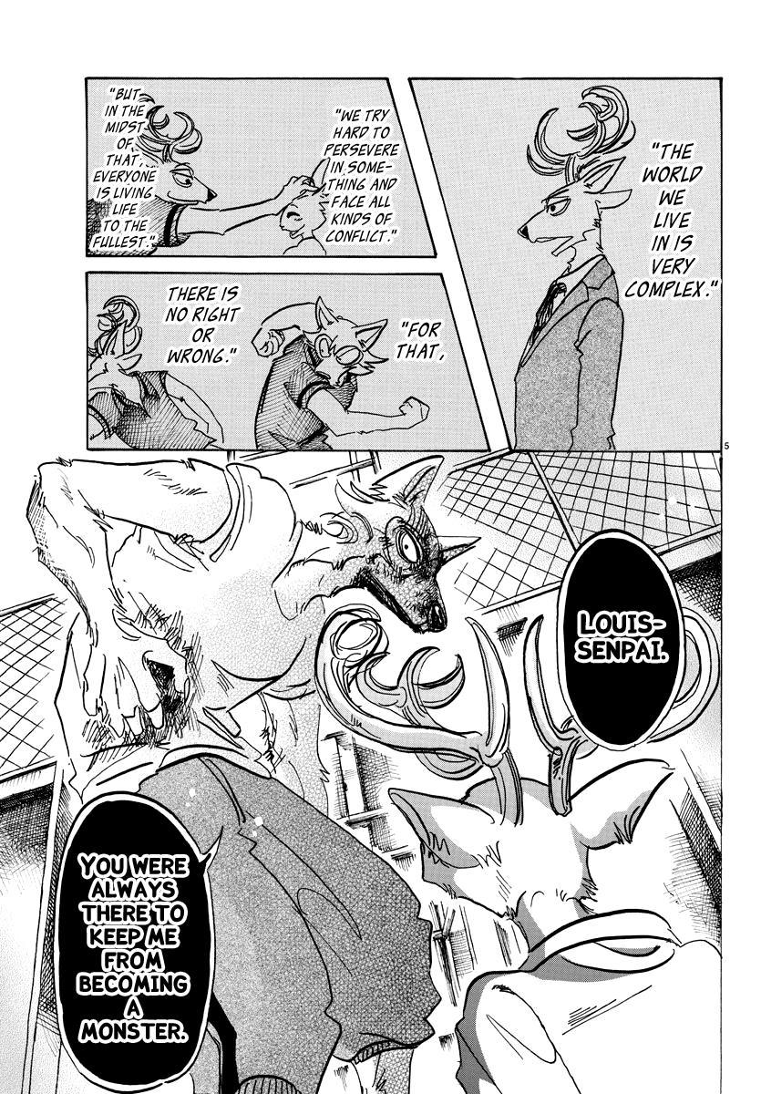Beastars Manga, Chapter 95 image 005