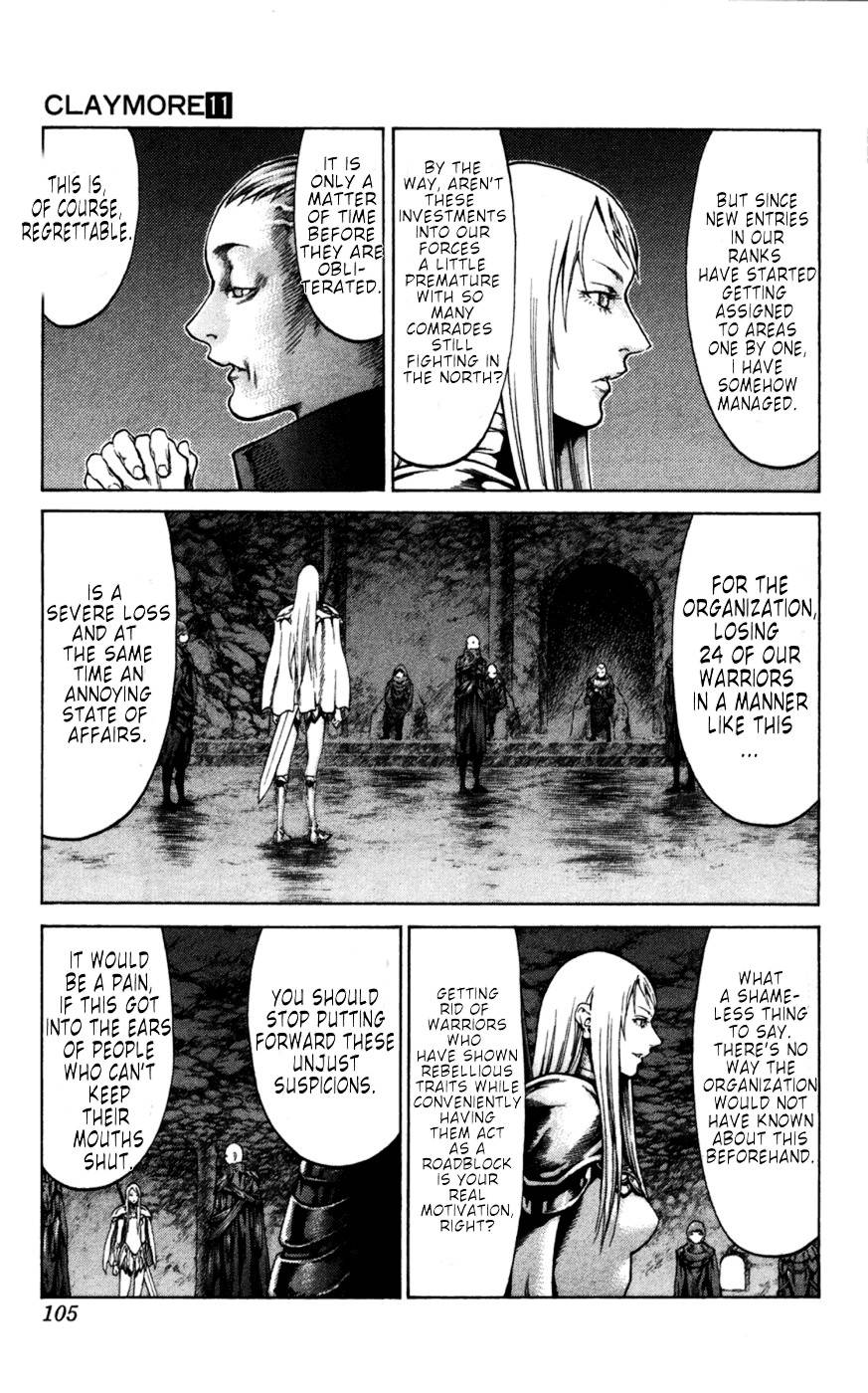 Claymore, Chapter 61 image 011