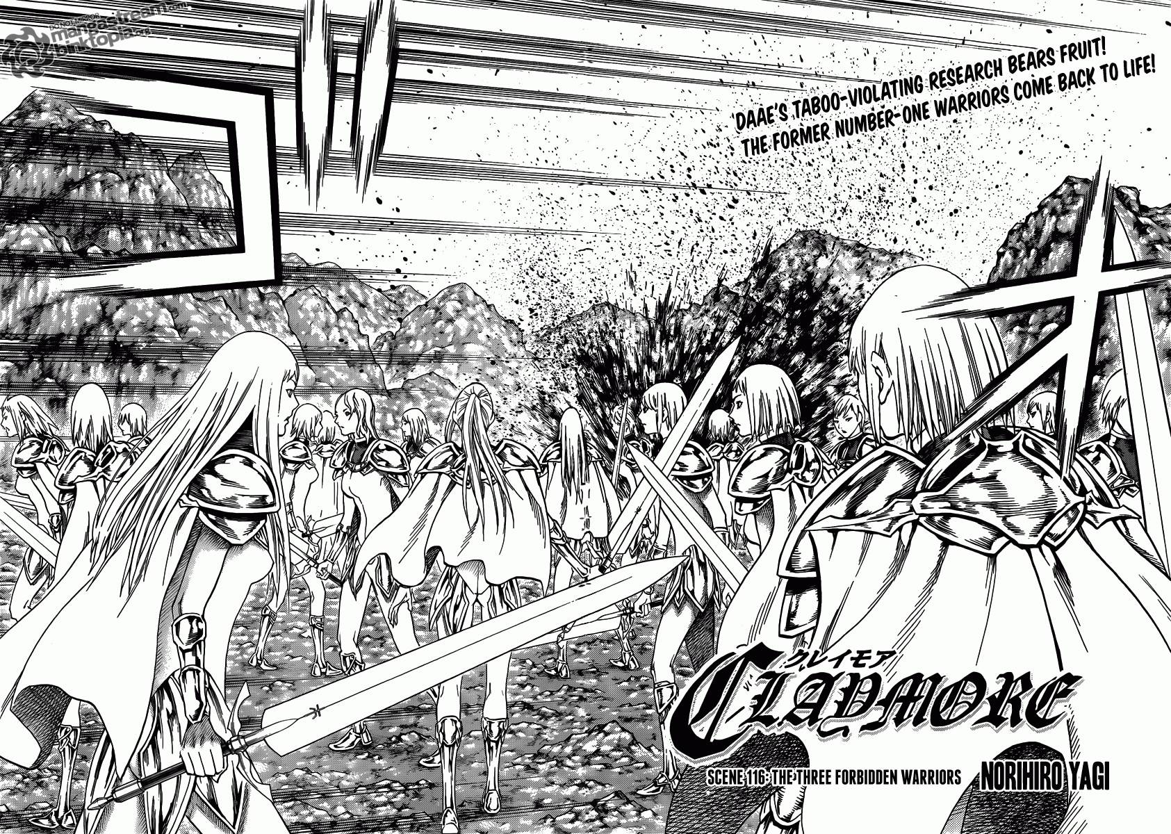 Claymore, Chapter 116 image 003