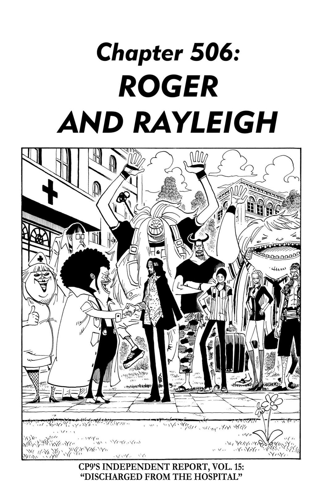 One Piece, Chapter 506 image 001