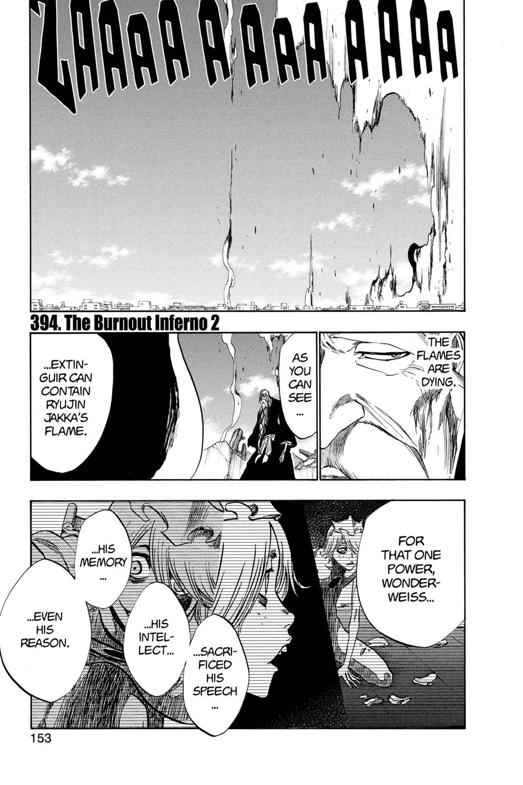 Bleach, Chapter 394 image 001