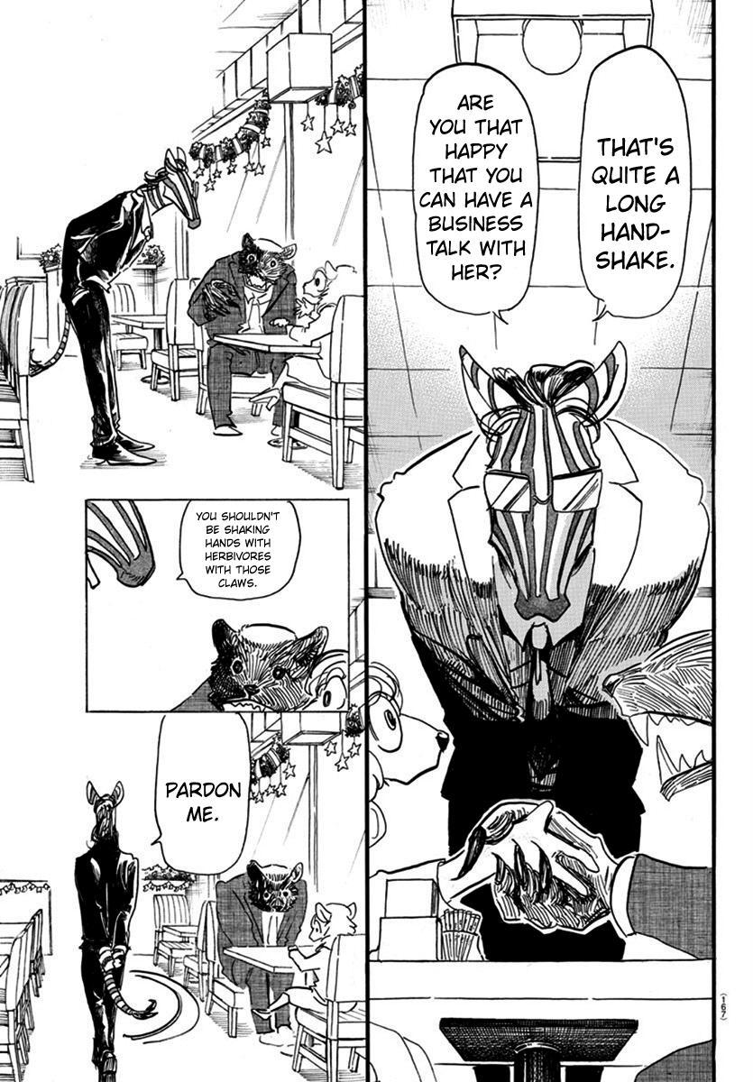 Beastars Manga, Chapter 172 image 005