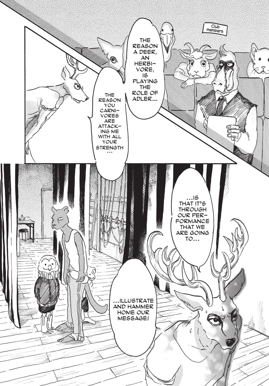 Beastars Manga, Chapter 7 image 008