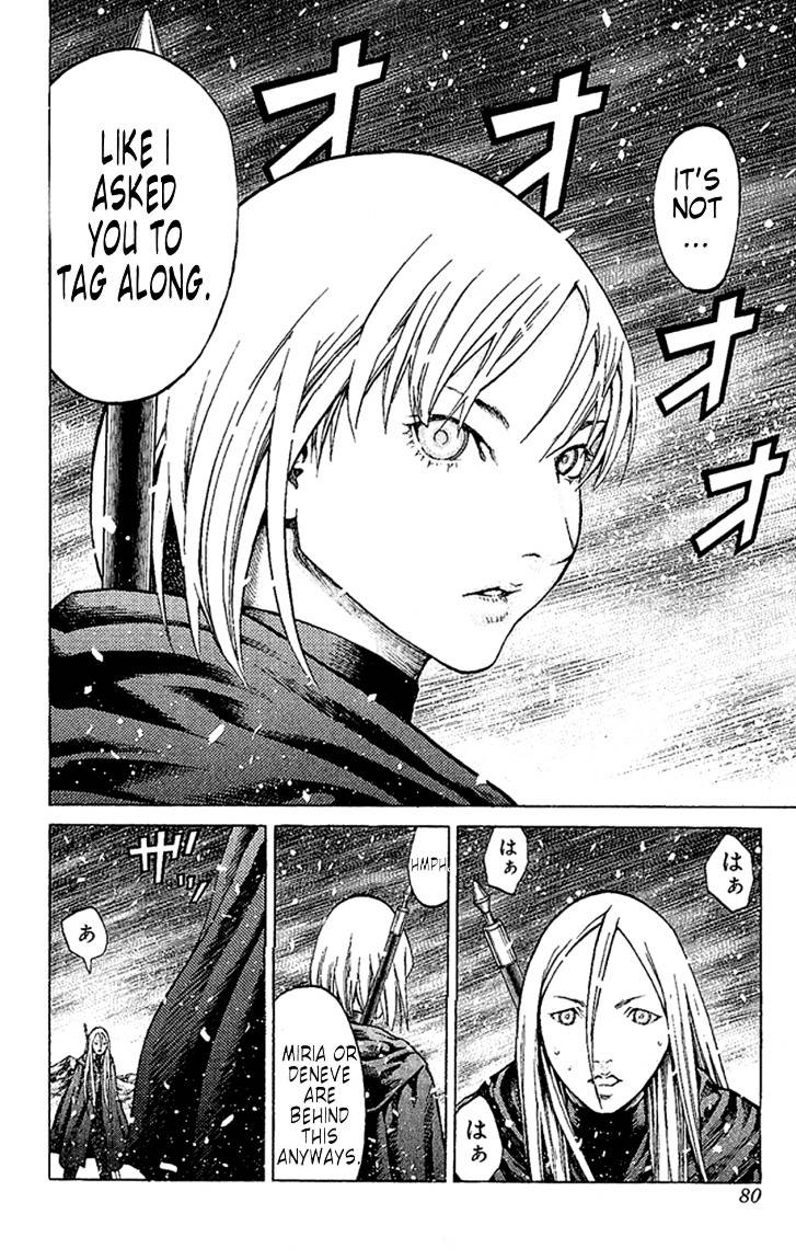 Claymore, Chapter 66 image 009