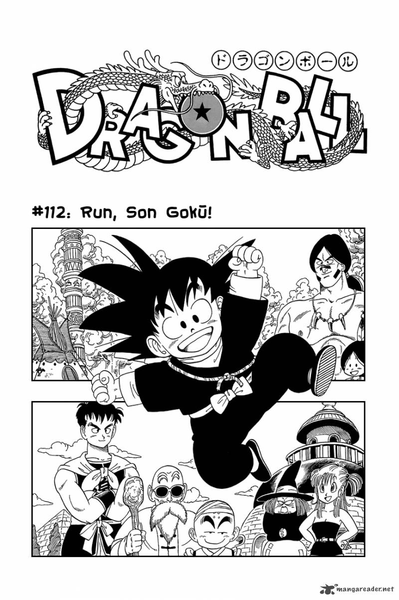 Dragon Ball, Chapter 112 image 002