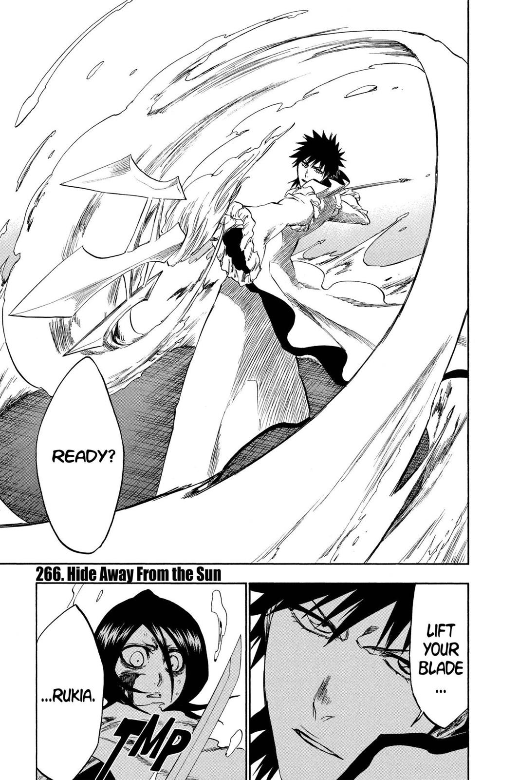 Bleach, Chapter 266 image 001