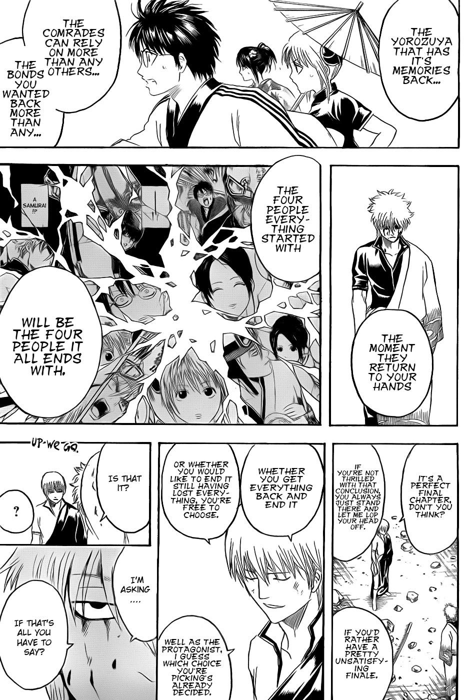 Gintama Chapter, 379 image 009