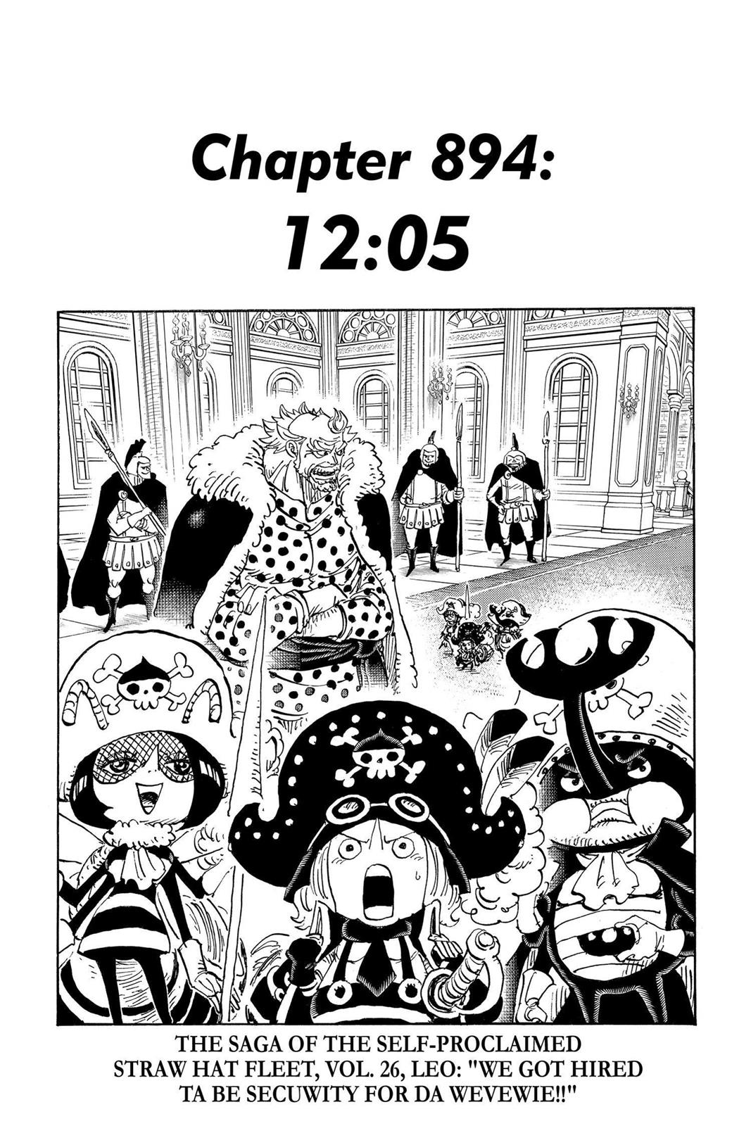 One Piece, Chapter 894 image 001