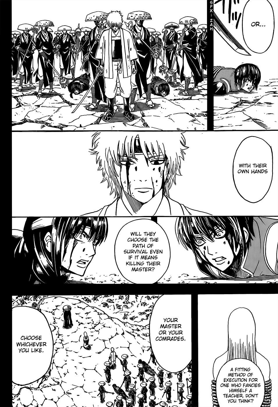 Gintama Chapter, 519 image 012