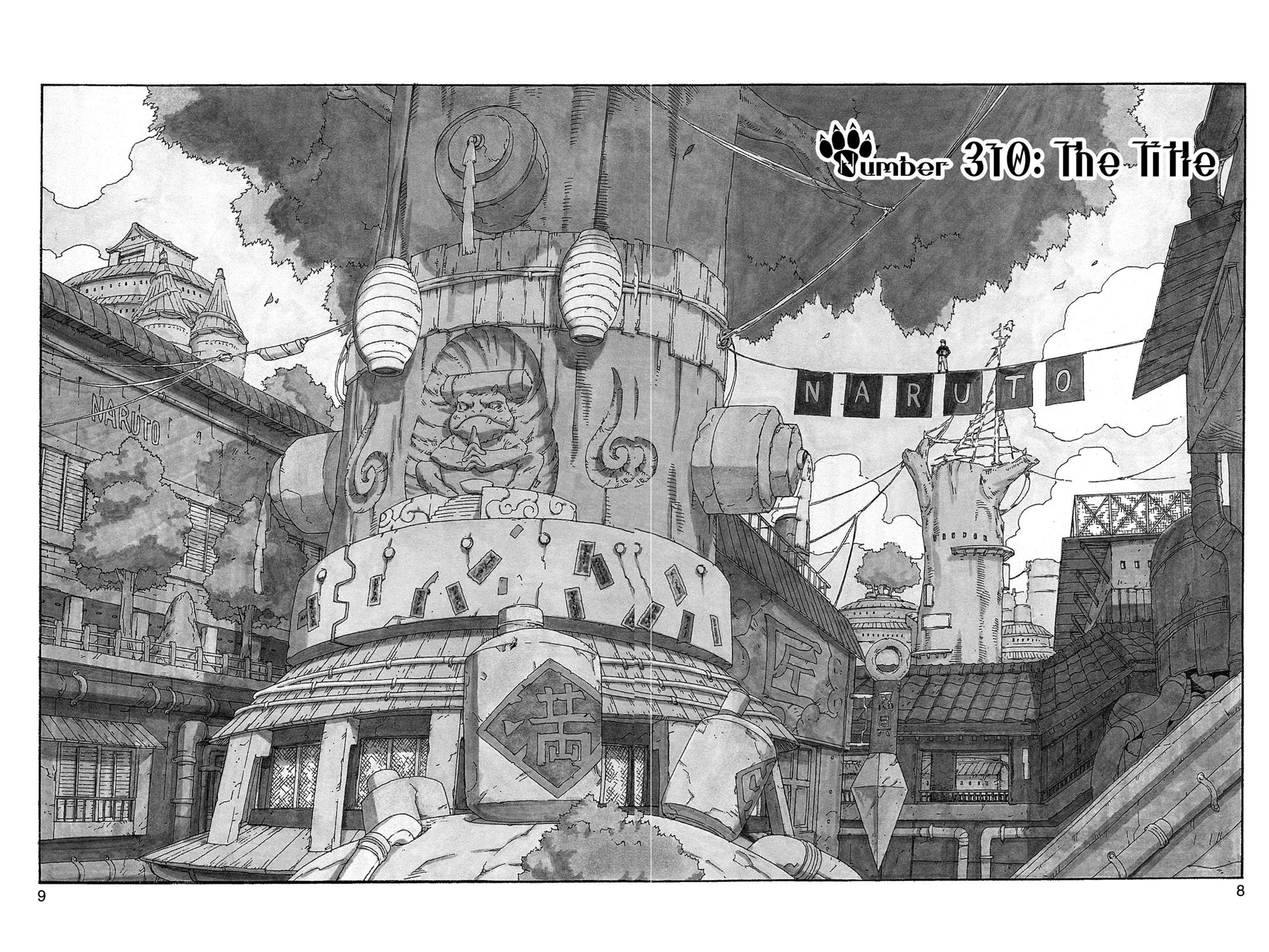 Naruto, Chapter 310 image 009