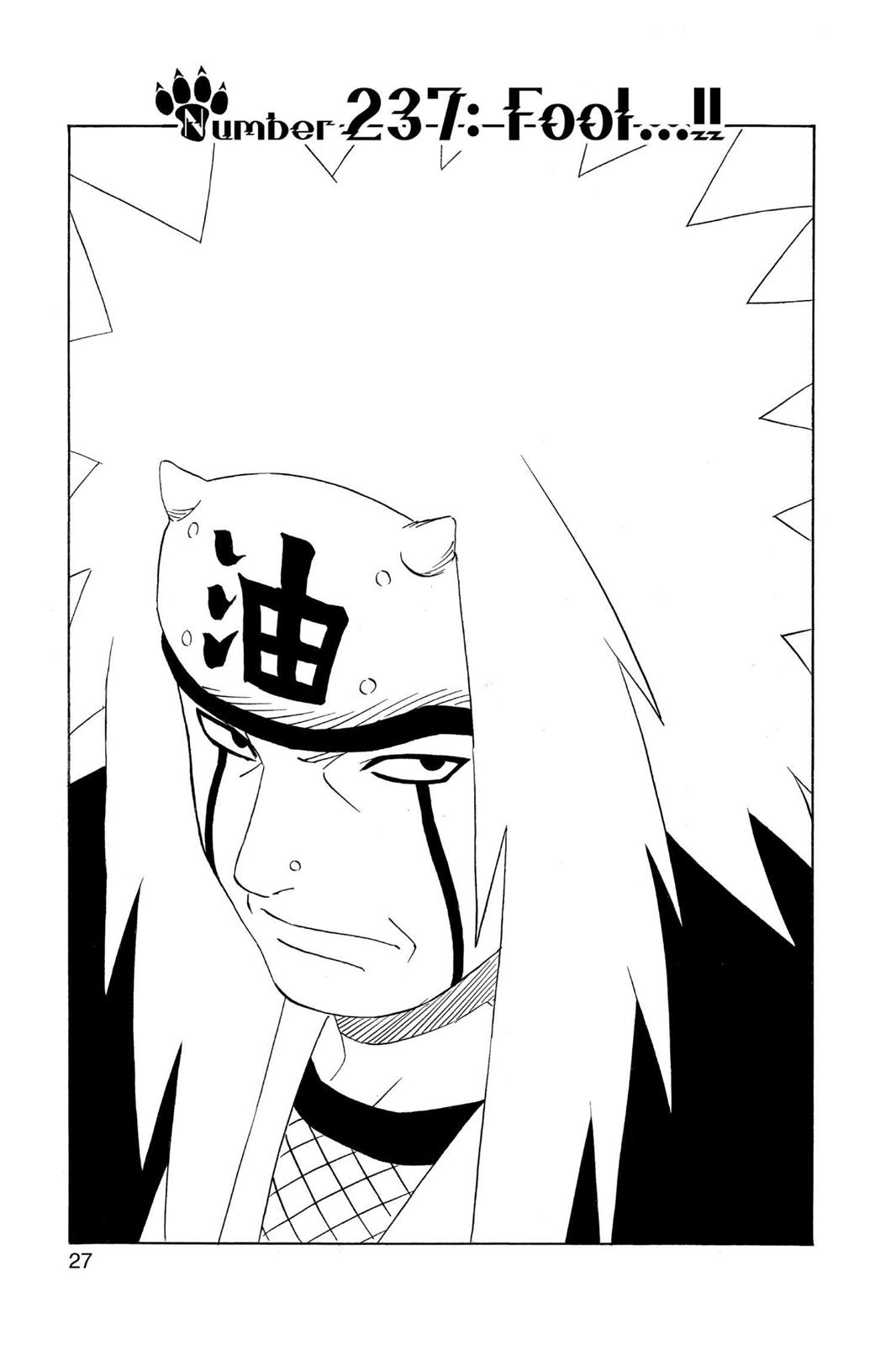 Naruto, Chapter 237 image 001