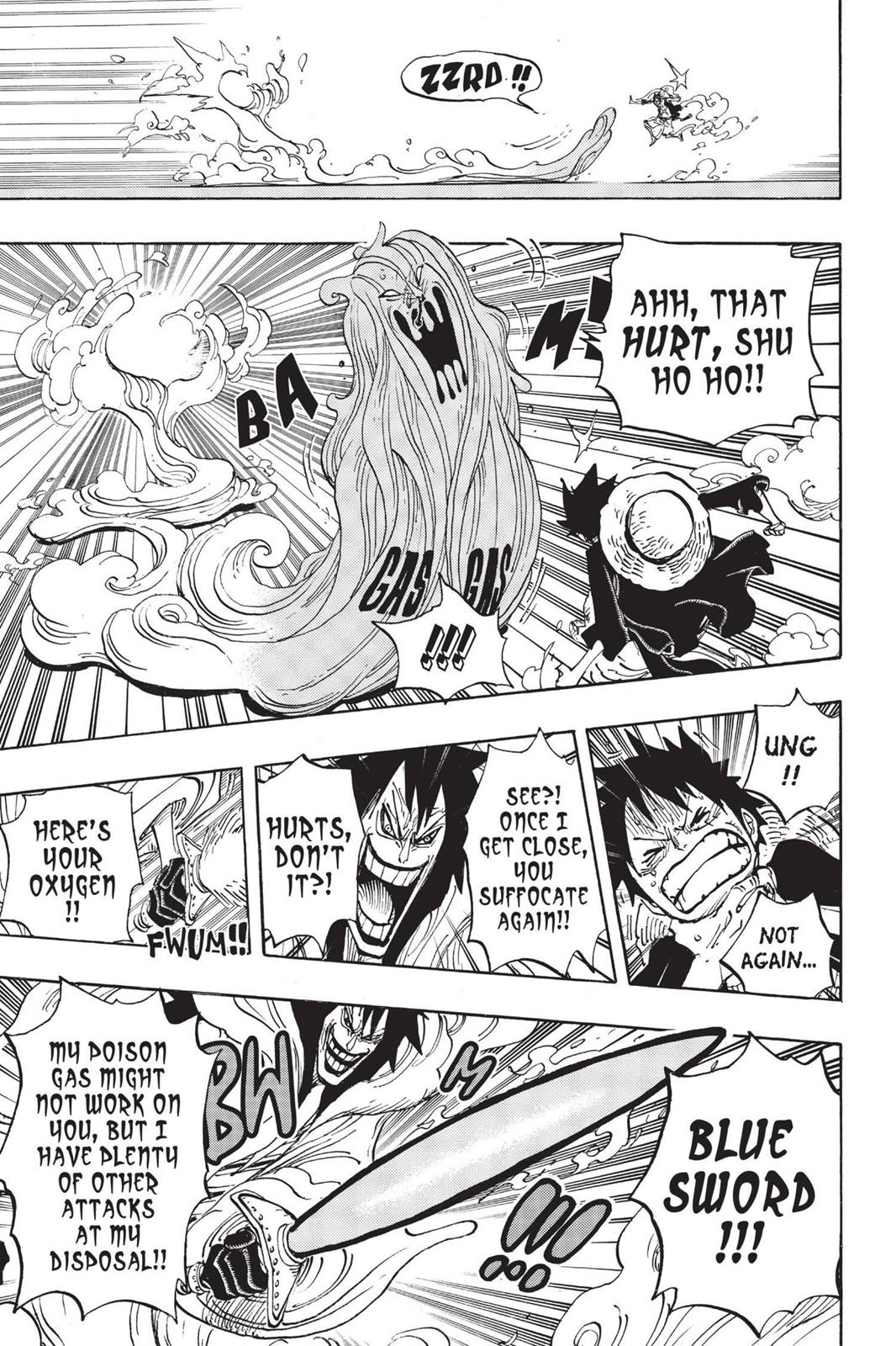 One Piece, Chapter 681 image 009