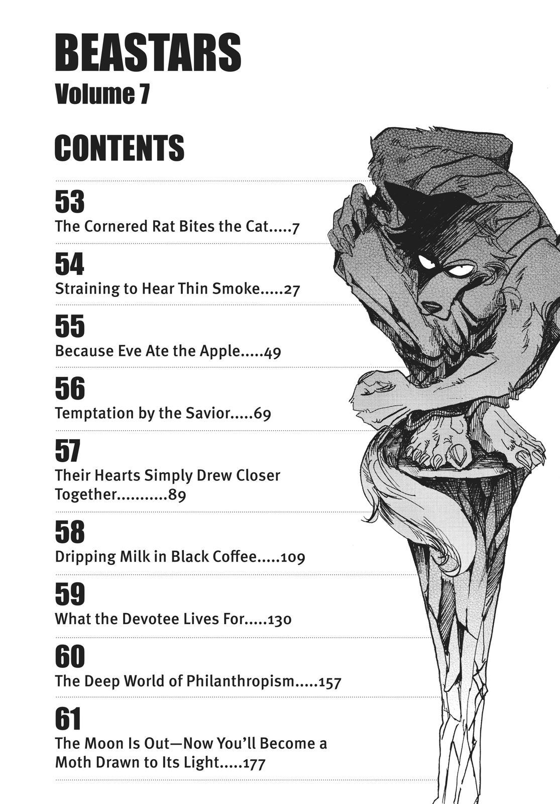 Beastars Manga, Chapter 53 image 004