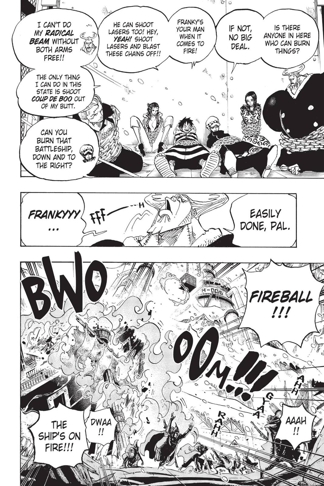 One Piece, Chapter 677 image 008