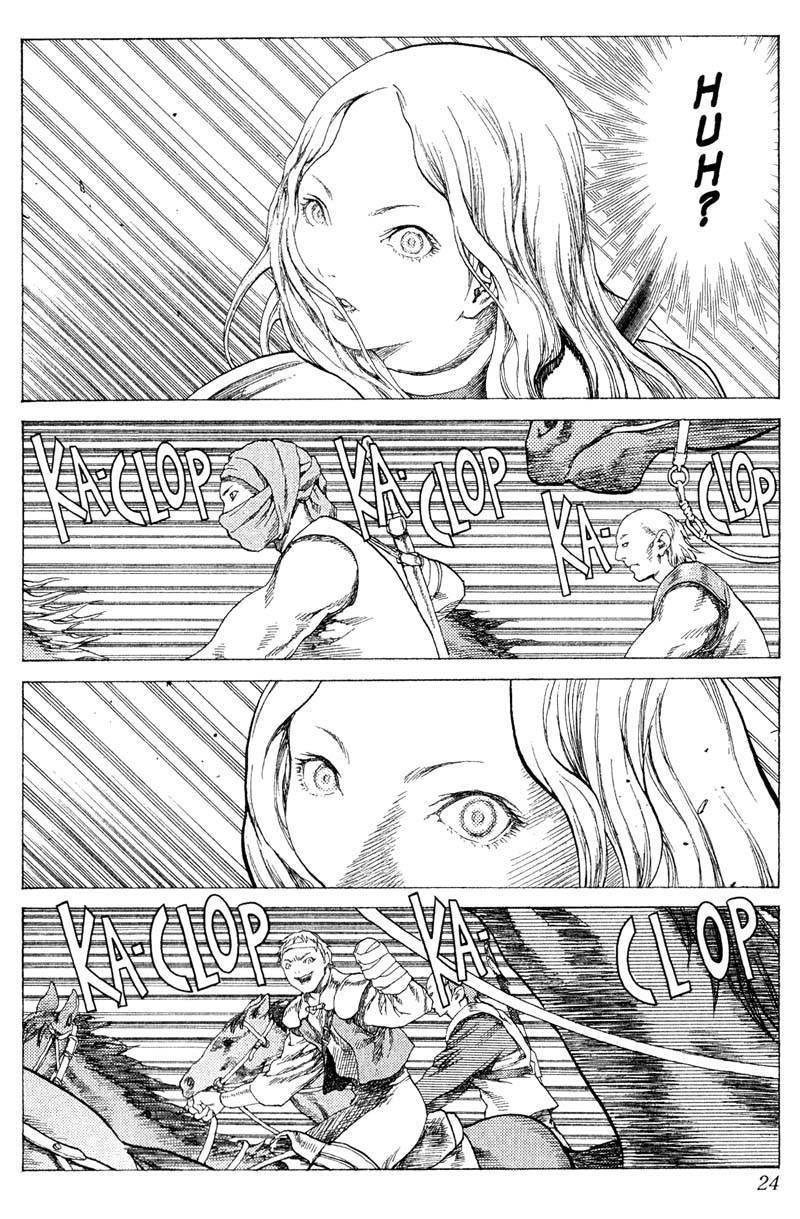 Claymore, Chapter 16 image 022