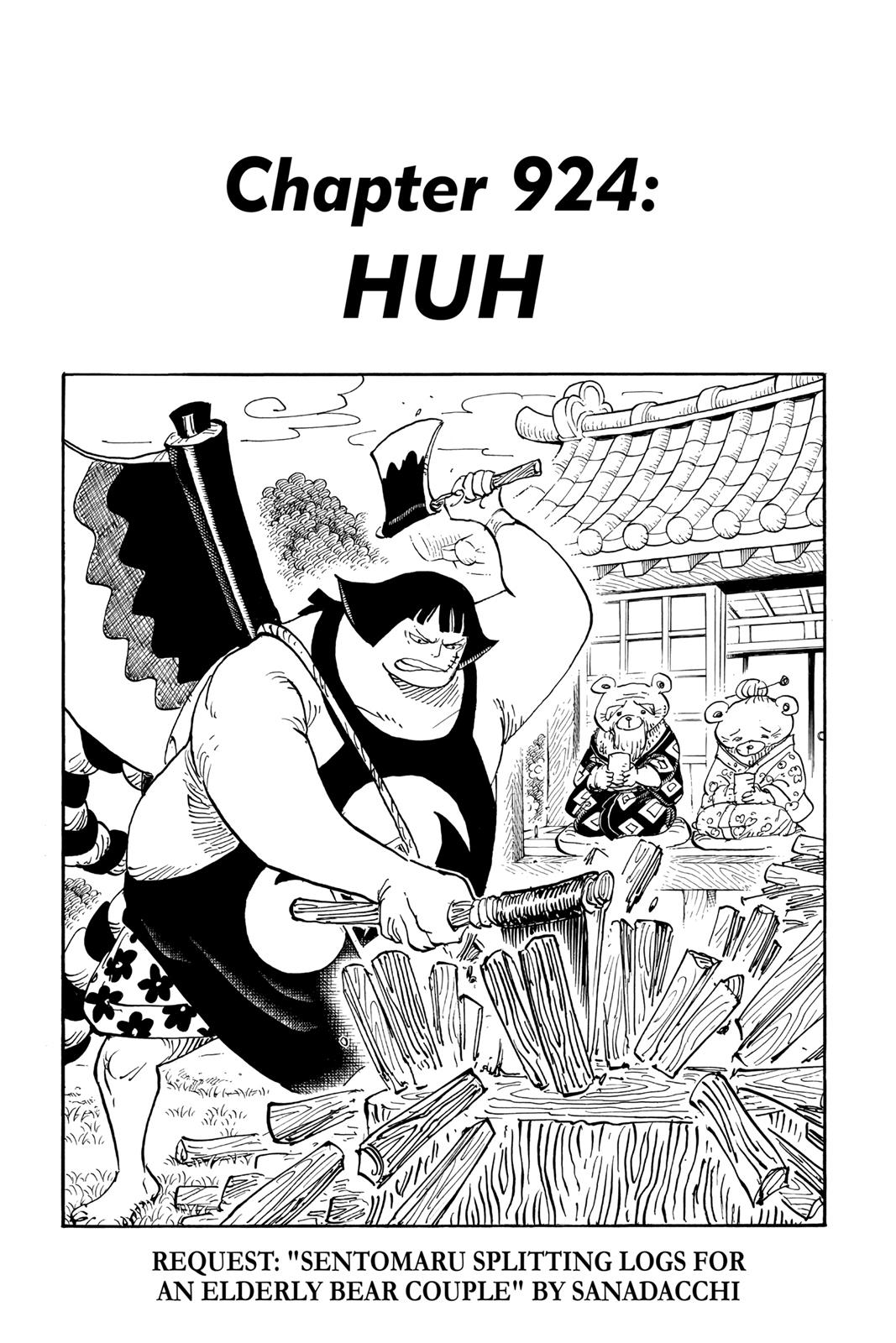 One Piece, Chapter 924 image 001