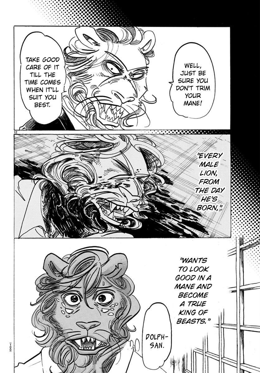 Beastars Manga, Chapter 163 image 012