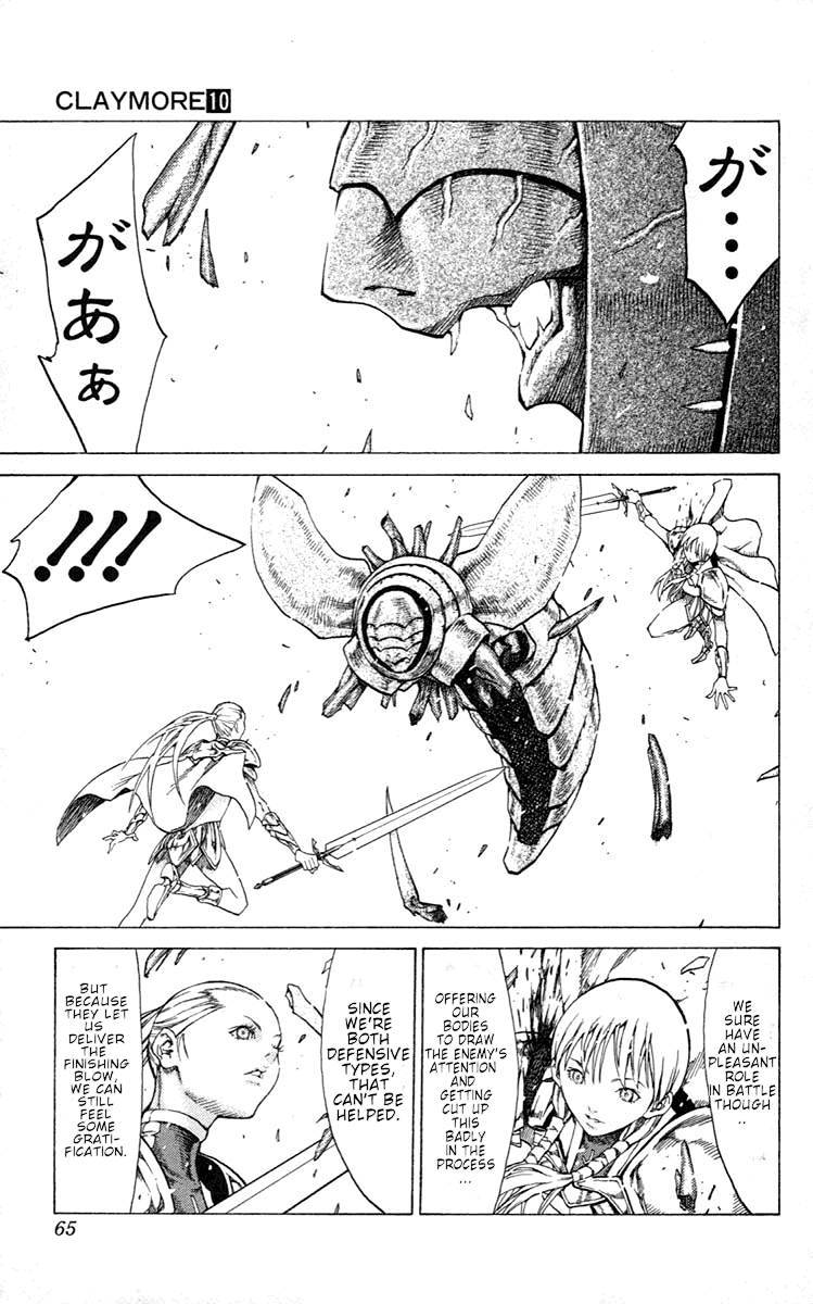 Claymore, Chapter 53 image 026