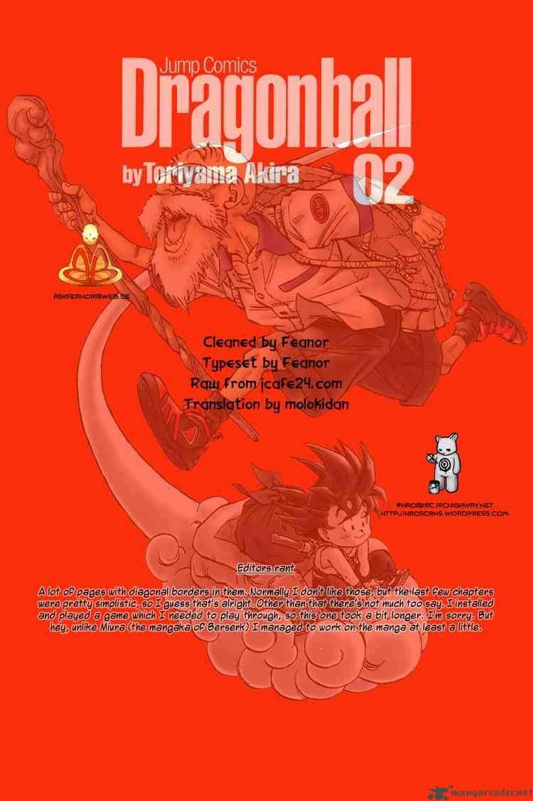 Dragon Ball, Chapter 26 image 015