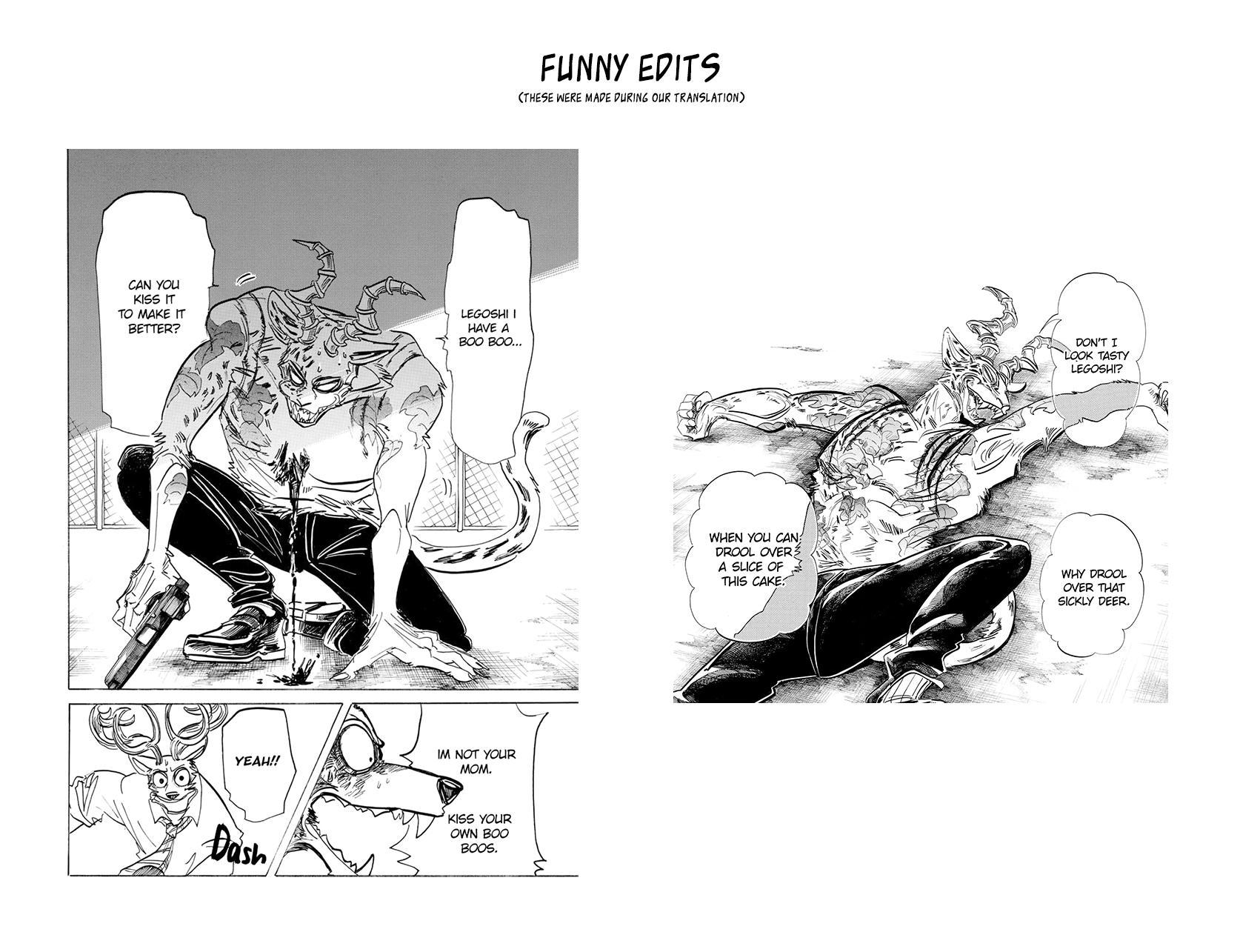 Beastars Manga, Chapter 191 image 020