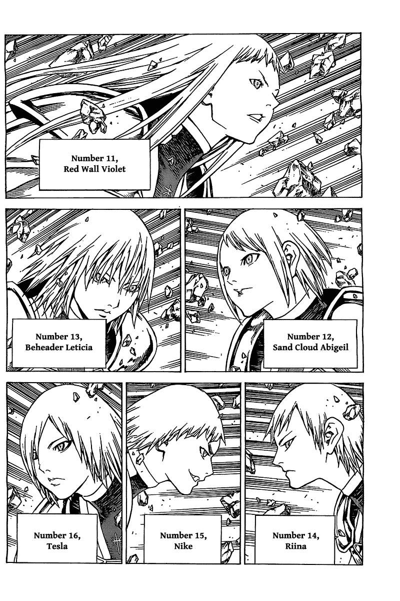 Claymore, Chapter 139 image 004