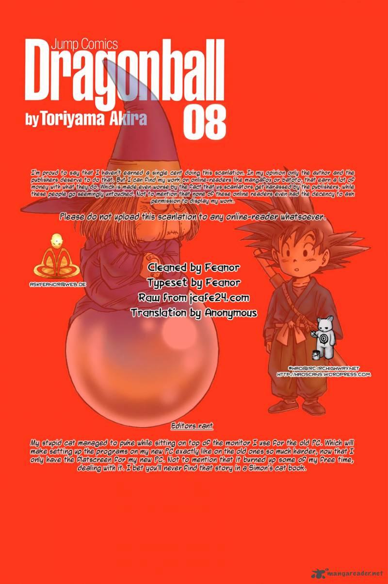 Dragon Ball, Chapter 115 image 001