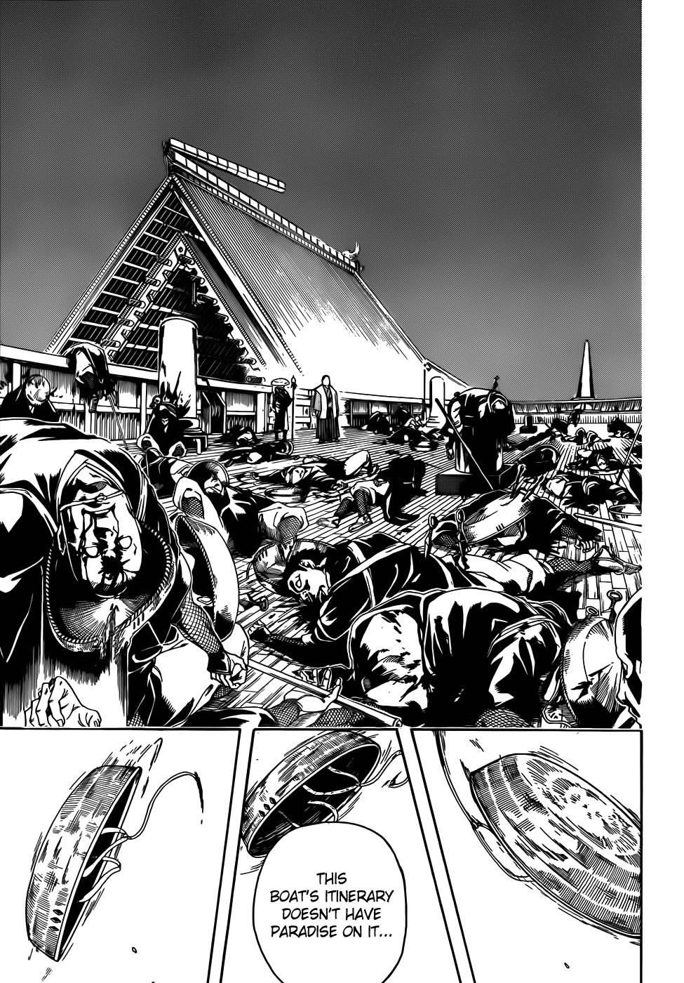 Gintama Chapter, 395 image 015
