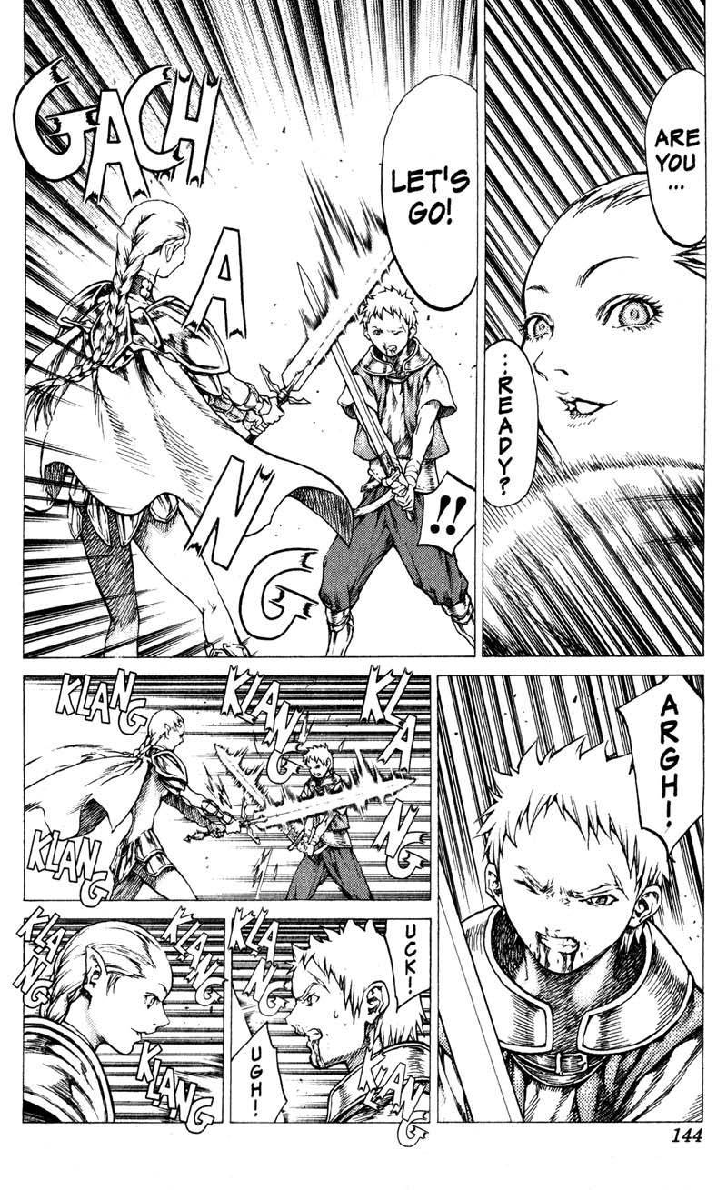 Claymore, Chapter 32 image 010