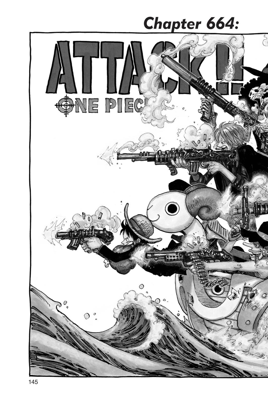 One Piece, Chapter 664 image 002