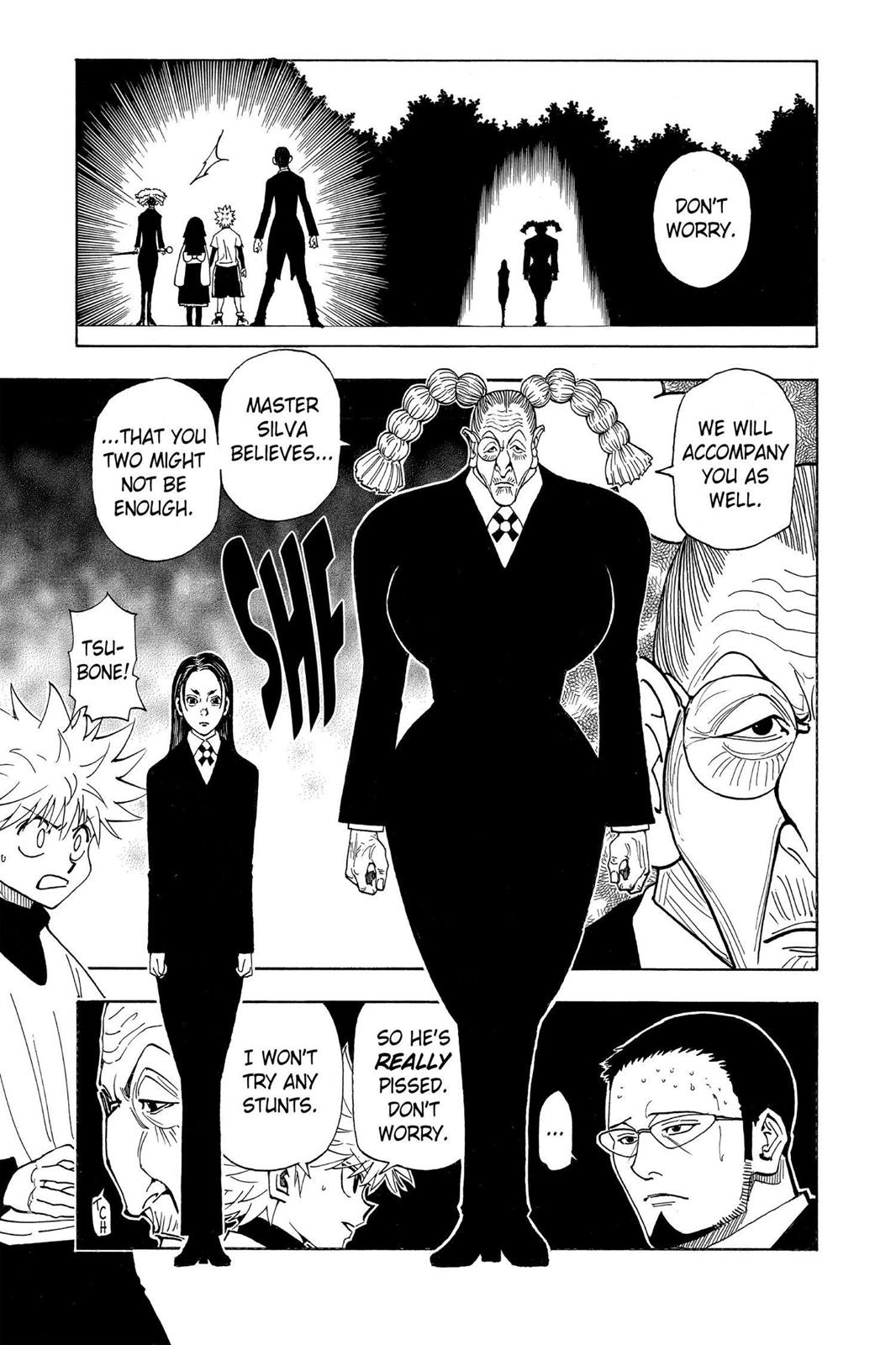 Hunter X Hunter, Chapter 324 image 015