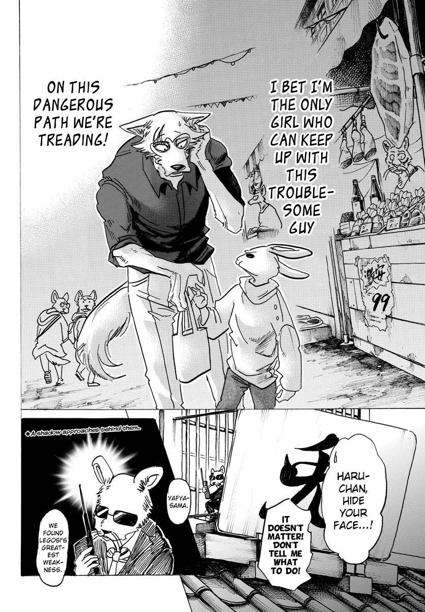Beastars Manga, Chapter 122 image 020