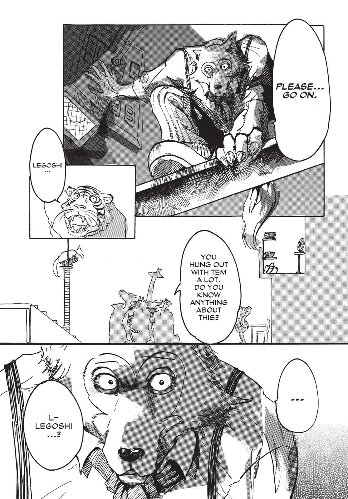 Beastars Manga, Chapter 1 image 025
