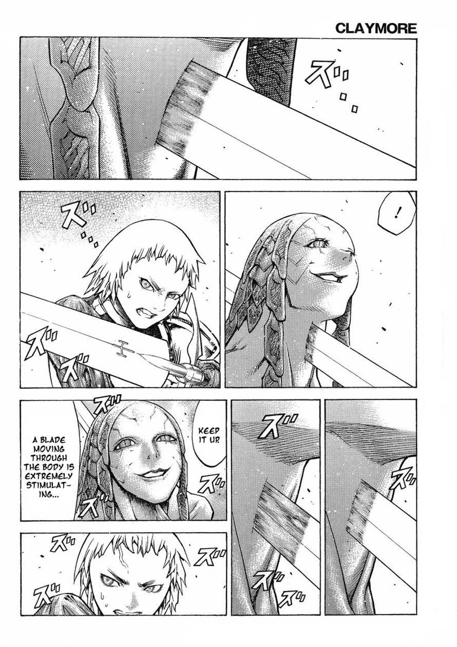 Claymore, Chapter 123 image 020