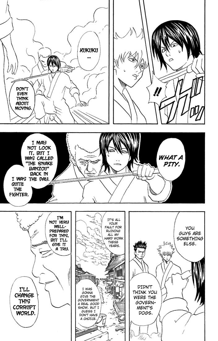 Gintama Chapter, 51 image 018