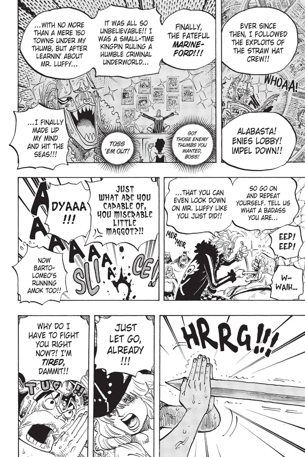 One Piece, Chapter 720 image 006