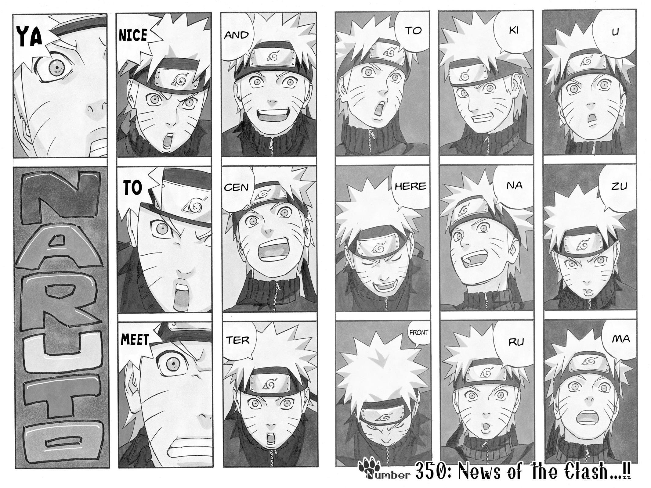 Naruto, Chapter 350 image 009