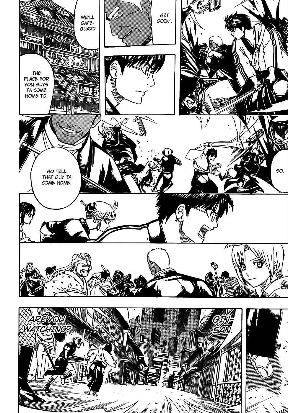 Gintama Chapter, 698 image 010