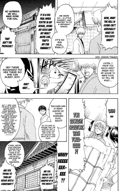 Gintama Chapter, 319 image 022