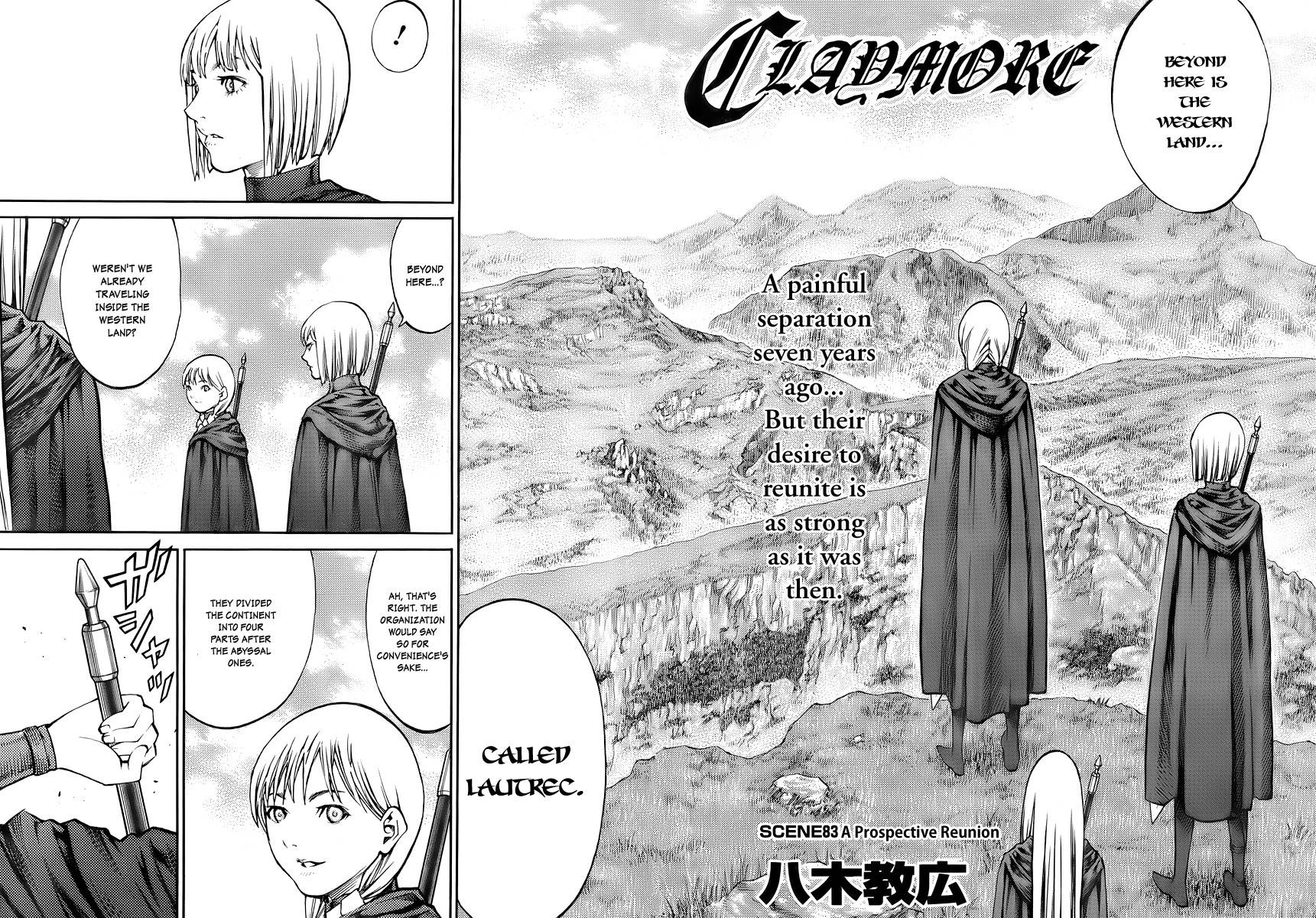 Claymore, Chapter 83 image 002