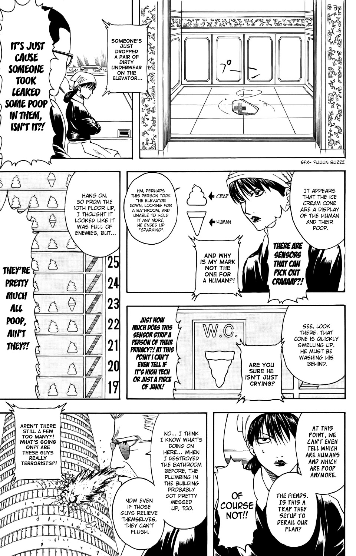 Gintama Chapter, 330 image 009
