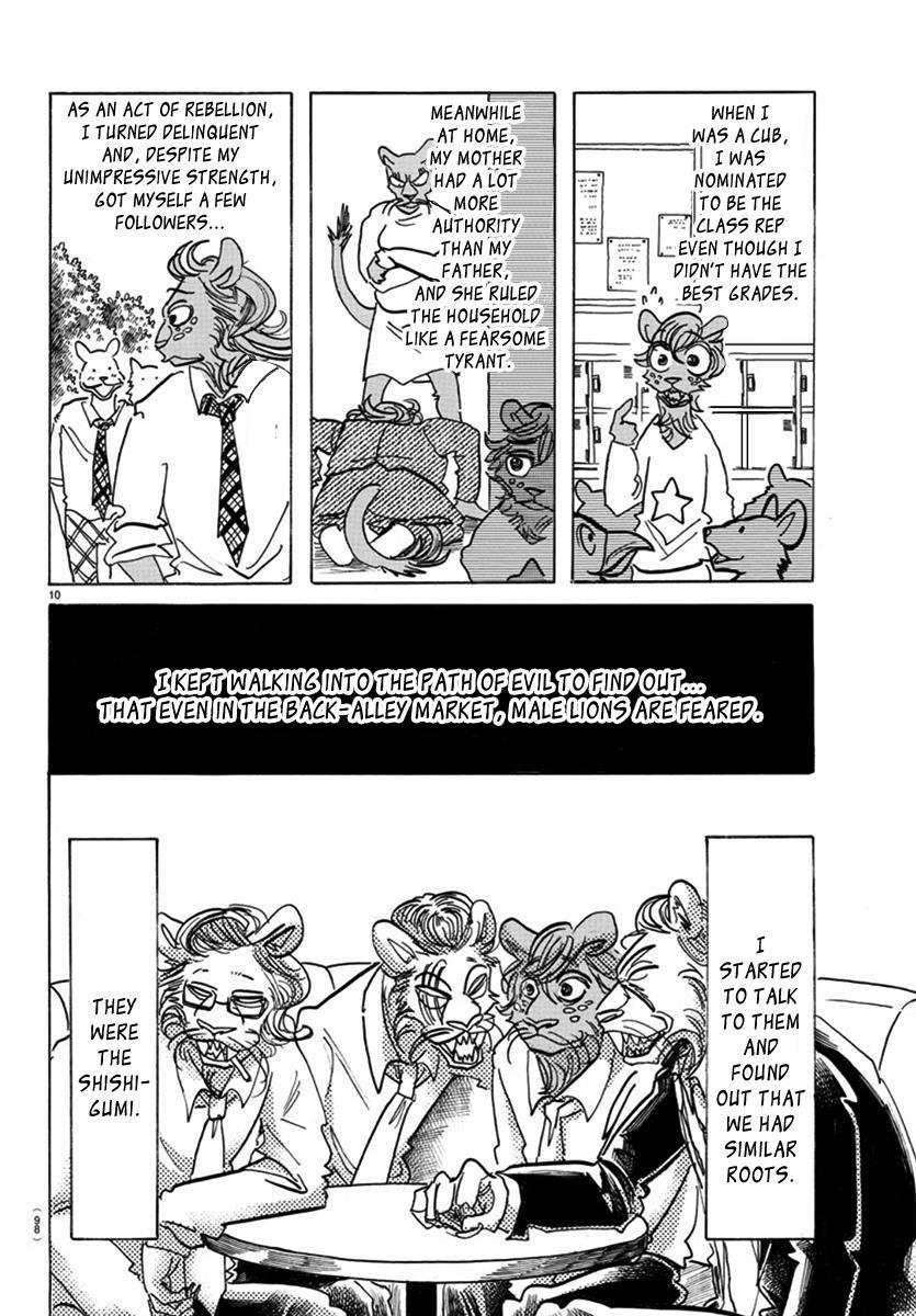 Beastars Manga, Chapter 163 image 010