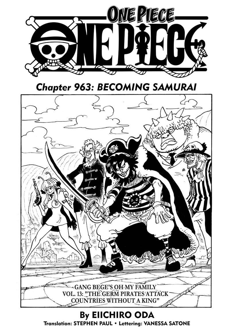 One Piece, Chapter 963 image 001