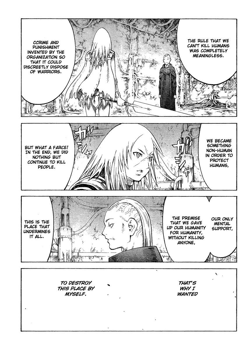 Claymore, Chapter 126 image 013