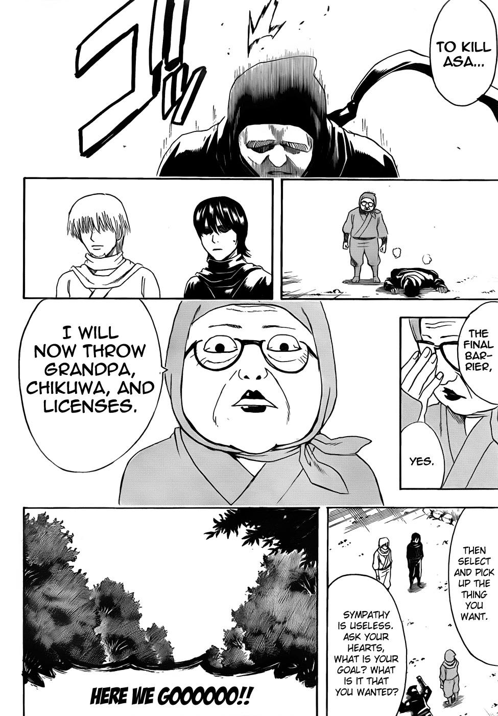 Gintama Chapter, 423 image 018