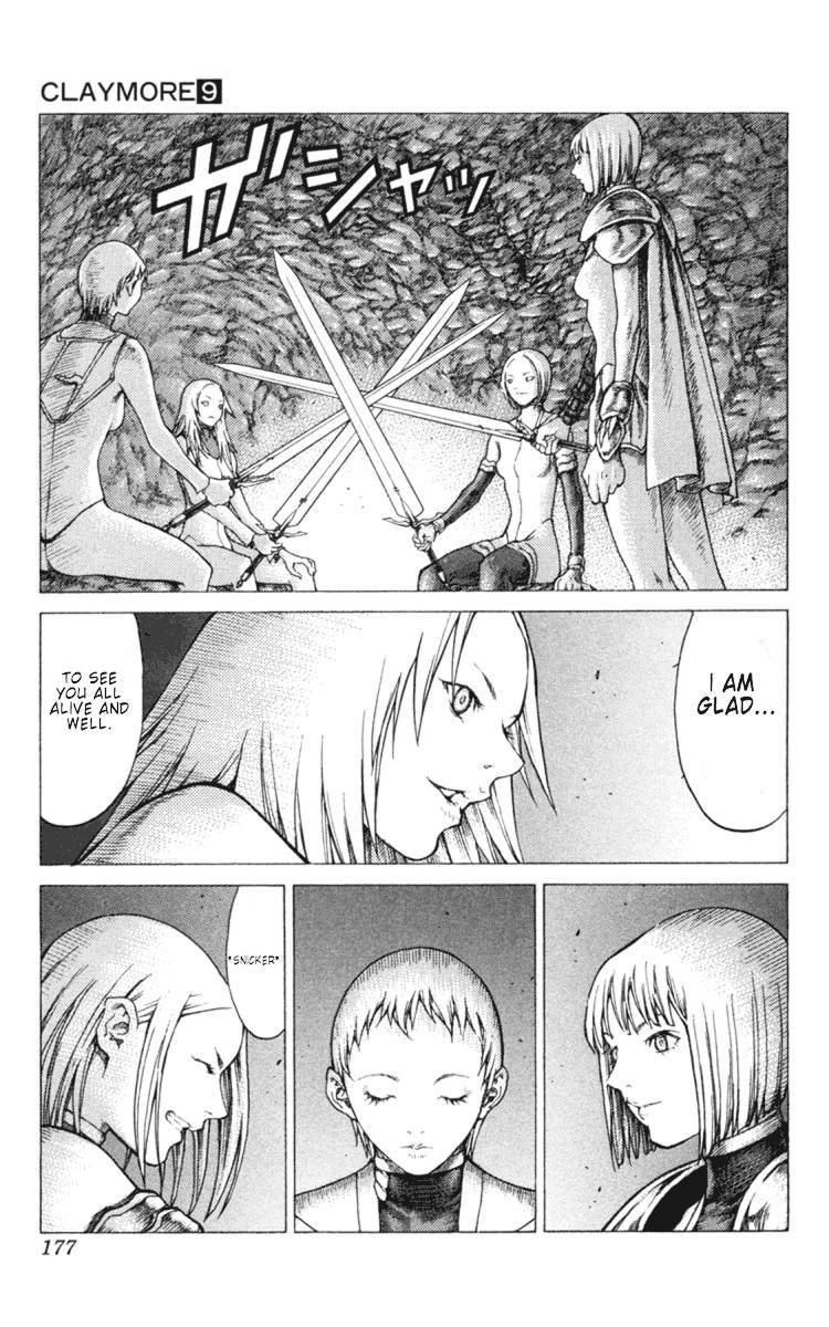 Claymore, Chapter 51 image 019