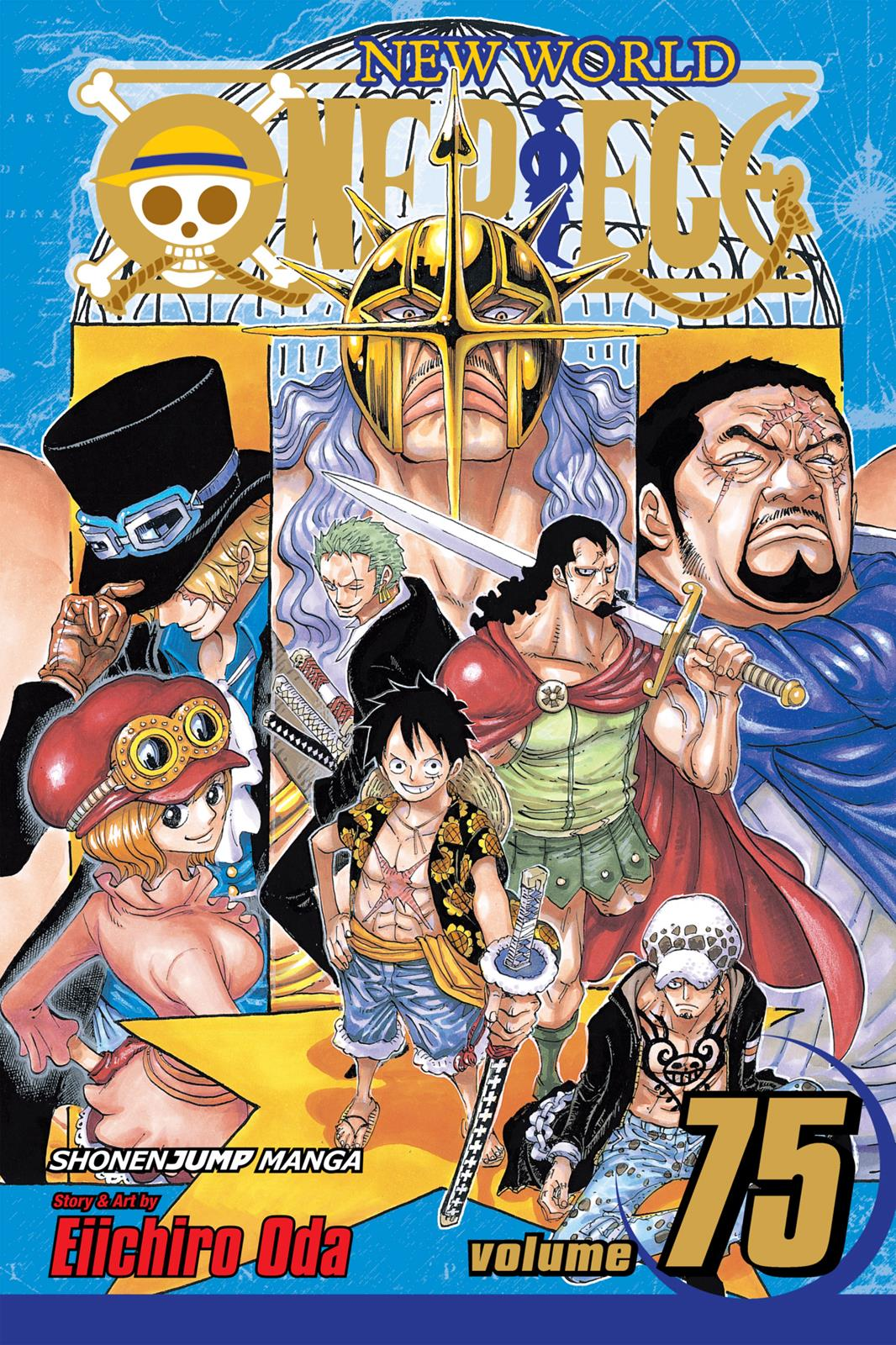 One Piece, Chapter 743 image 001