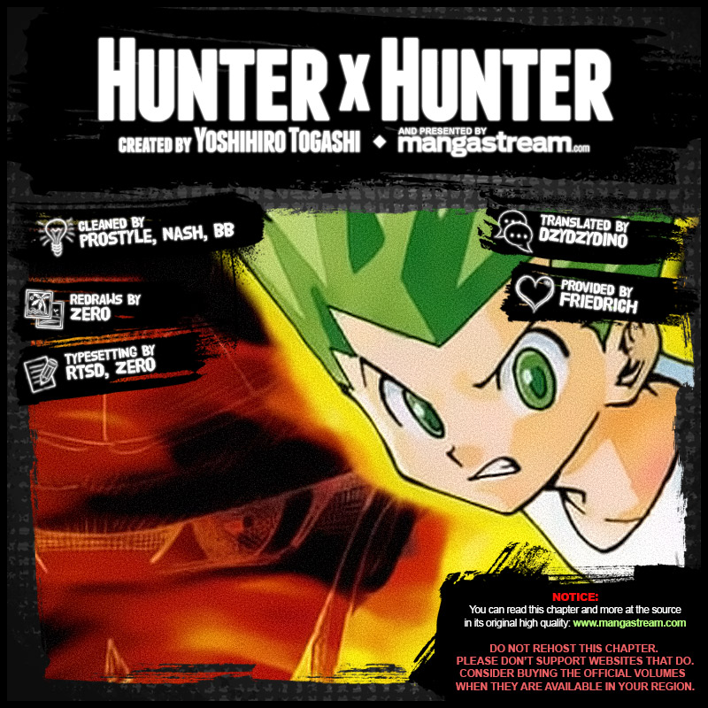 Hunter X Hunter, Chapter 390 image 002