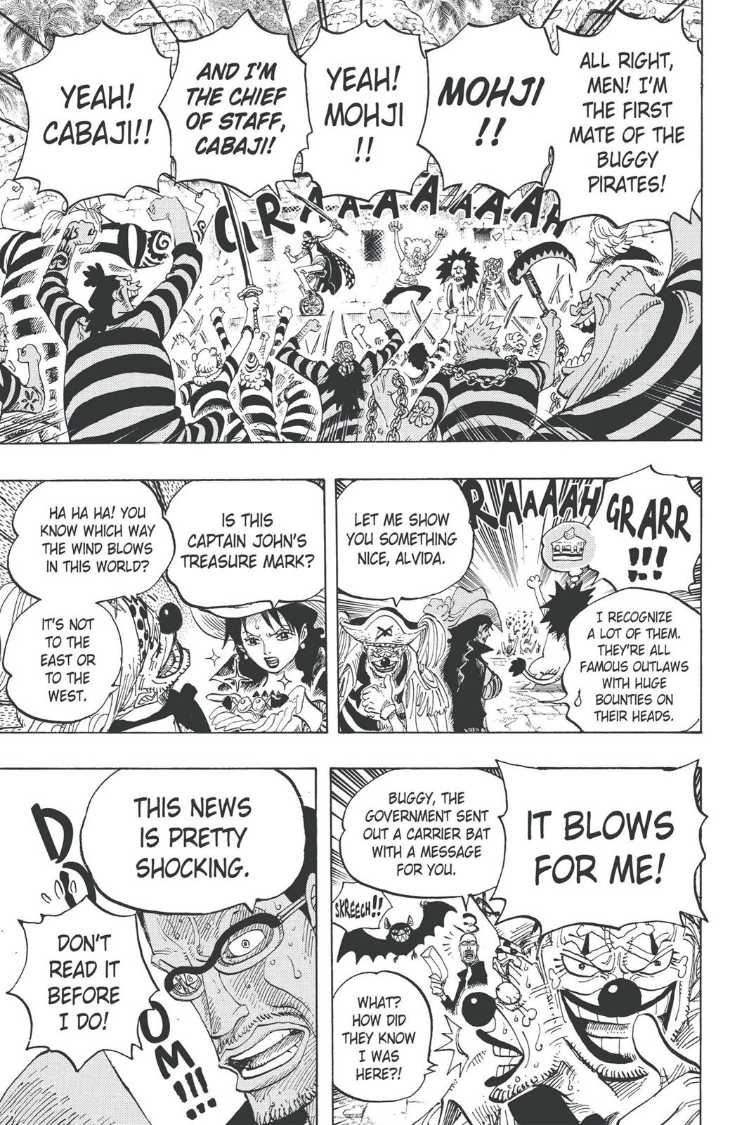 One Piece, Chapter 593 image 019