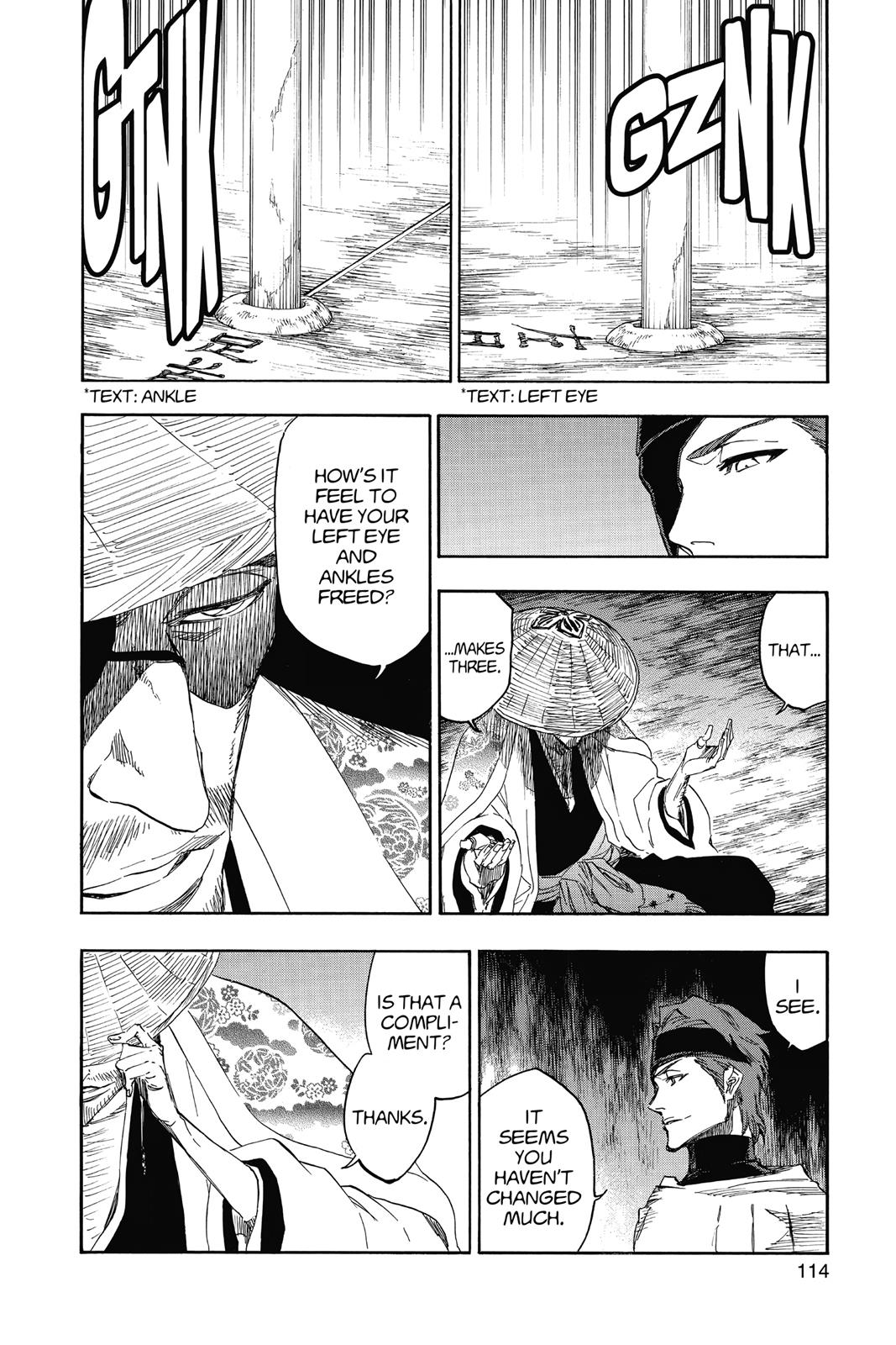 Bleach, Chapter 618 image 002
